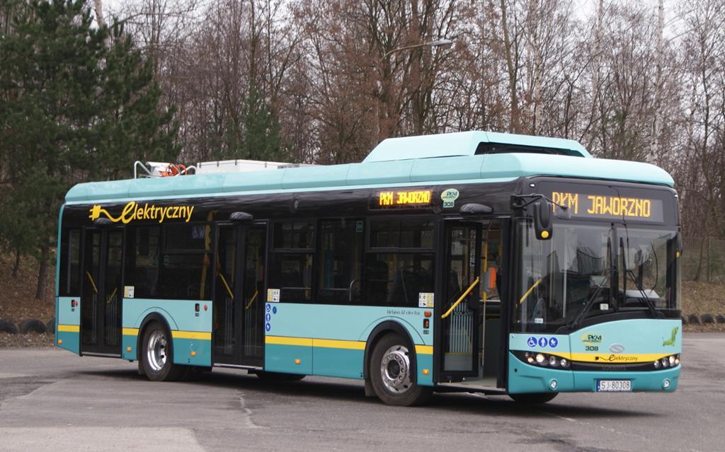 Elektryczny autobus – fot. PKM Jaworzno