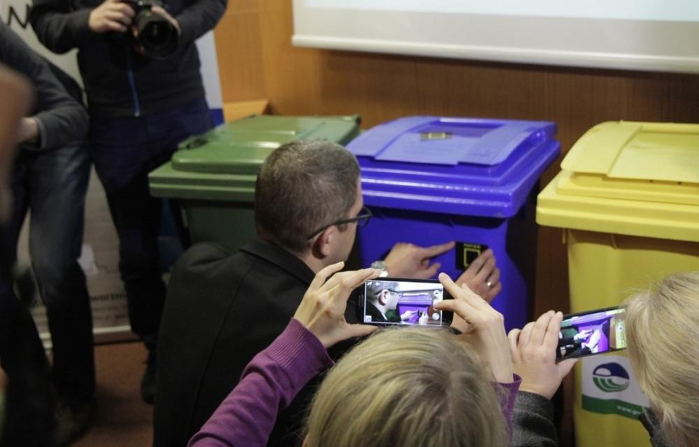 Segregowanie odpadów w Jaworznie - fot. UM Jaworzno