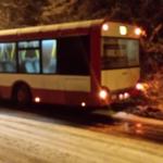 Trudne warunki drogowe w Zagłębiu – fot. MŁ
