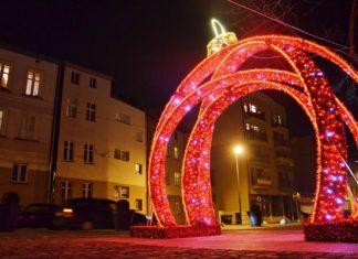 Nowe ozdoby świąteczne w Sosnowcu – fot. PL