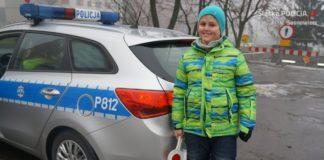 Policjanci spełnili marzenie Kacpra – fot. KMP Sosnowiec