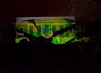 Video mapping z pokazem laserowym - fot. Dariusz Nowak (nddg)