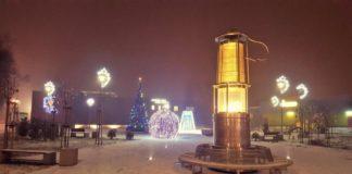 Dekoracje świąteczne w Czeladzi – fot. UM Czeladź