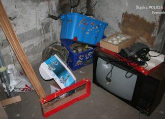 Włamania do piwnic – fot. KMP Sosnowiec