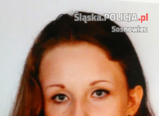 Zaginiona Klaudia Majcher – fot. KMP Sosnowiec