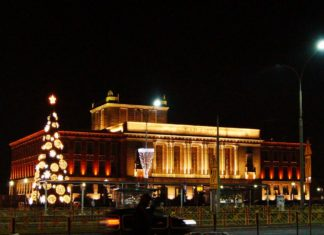 Ozdoby świąteczne w Dąbrowie Górniczej – fot. MC