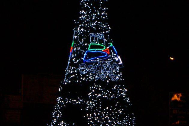 Ozdoby świąteczne w Będzinie – fot. MC