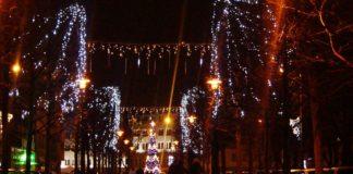 Uruchomienie miejskiej choinki w Sosnowcu – fot. MC