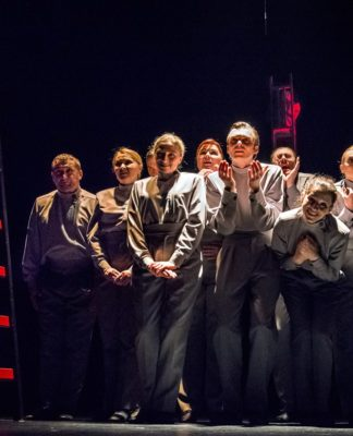 """""""Cesarz"""" w Teatrze Zagłębia – fot. Maciej Stobierski"""