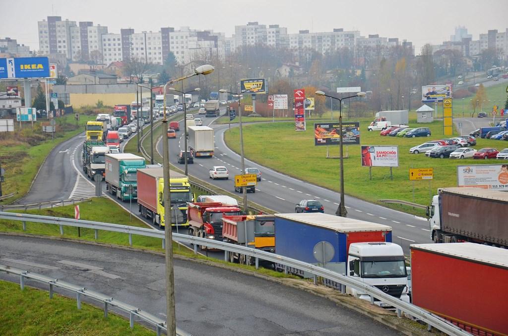 Remont na DK94 – fot. UM Sosnowiec