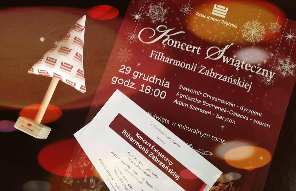 Koncert Świąteczny Filharmonii Zabrzańskiej – fot. mat. pras.