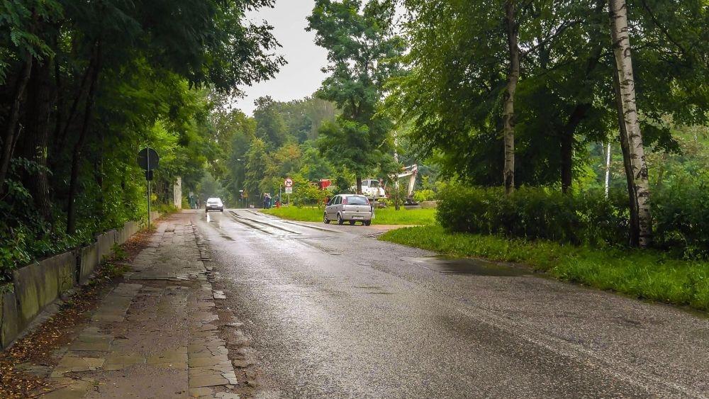Ulica Sobieskiego w Jaworznie – fot. UM Jaworzno