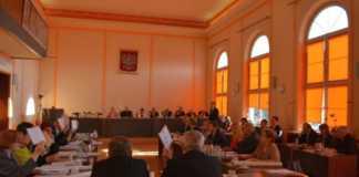 Sesja powiatu będzińskiego - fot. Starostwo Powiatowe Będzin