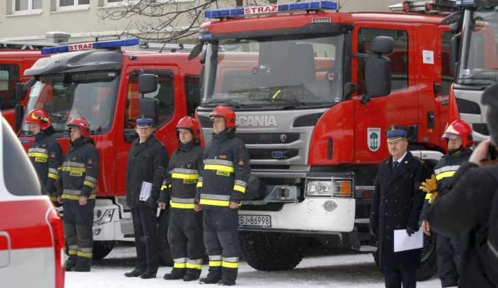 Nowy sprzęt dla straży pożarnej w Jaworznie – fot. UM Jaworzno
