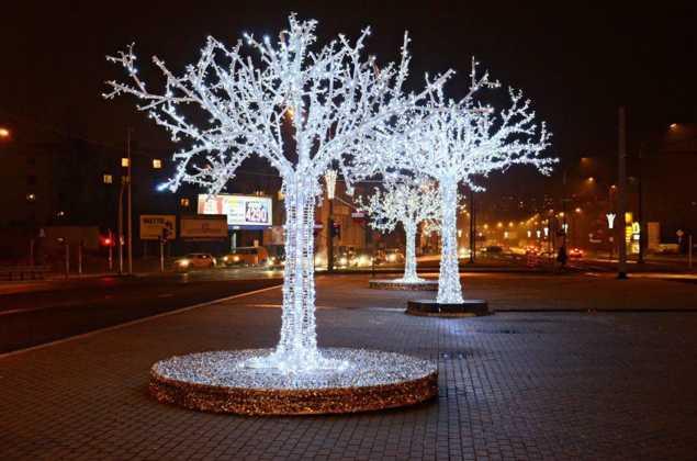 Ozdoby świąteczne w Sosnowcu – fot. UM Sosnowiec