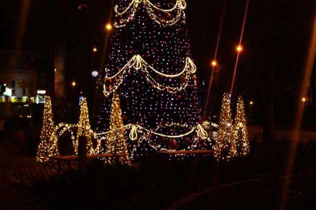 Ozdoby świąteczne w Sosnowcu – fot. MC