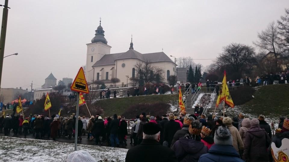 Orszak Trzech Króli 2016 w Będzinie - fot. UM Będzin