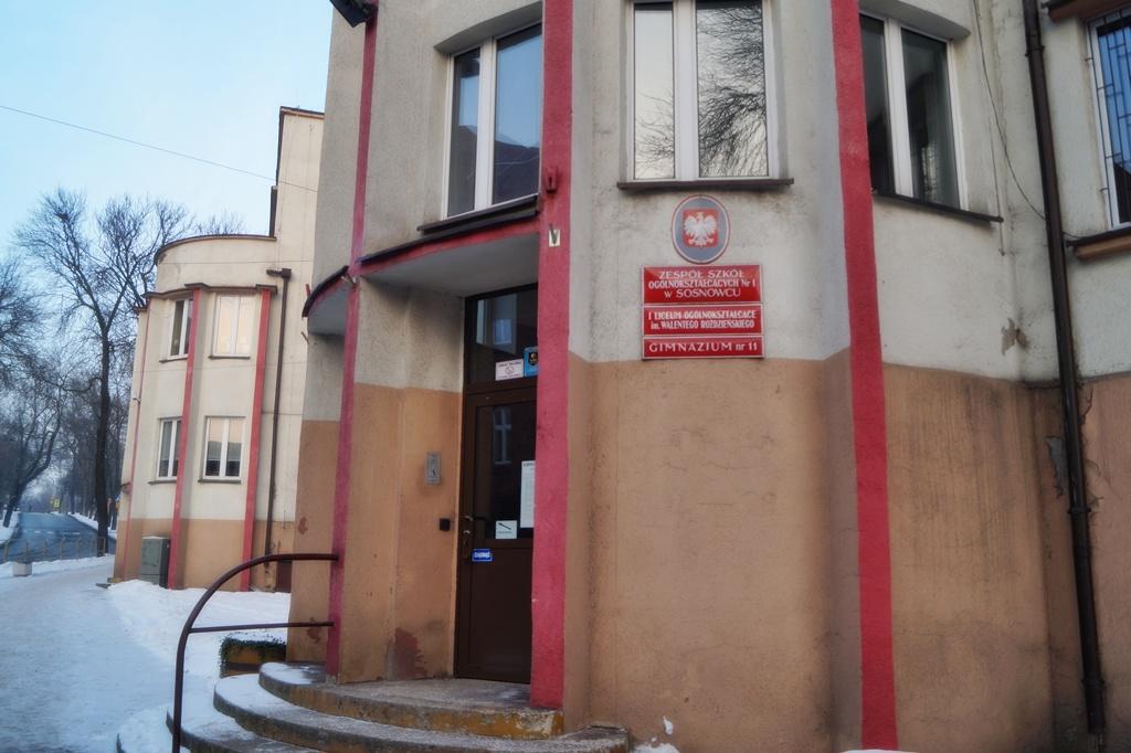 I LO im. W. Roździeńskiego w Sosnowcu - fot. MC