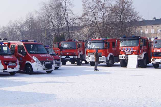 Strażacy dla Alana - charytatywny festyn strażacki w Sosnowcu - fot. MC