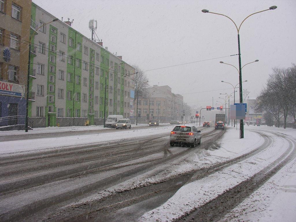 Sosnowiec ul. Sienkiewicza - fot. AR