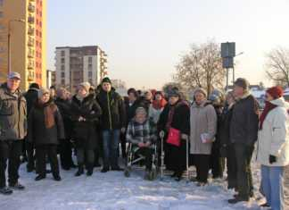 Mieszkańcy osiedla Morcinka protestują przeciwko likwidacji przystanku - fot. AR