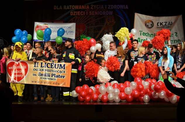 WOŚP 2017 w Sosnowcu - fot. Paweł Leśniak