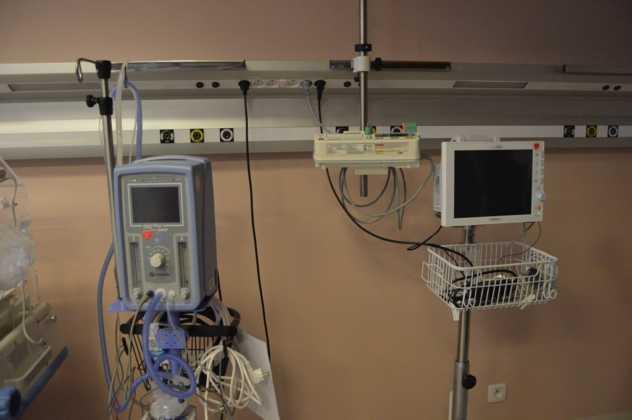 Sprzęt WOŚP w sosnowieckim szpitalu – fot. MZ
