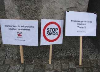 Smog w Zagłębiu - fot. Zagłębiowski Alarm Smogowy