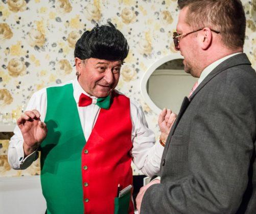 """""""Prezent urodzinowy"""" w Teatrze Zagłębia – fot. Maciej Stobierski"""