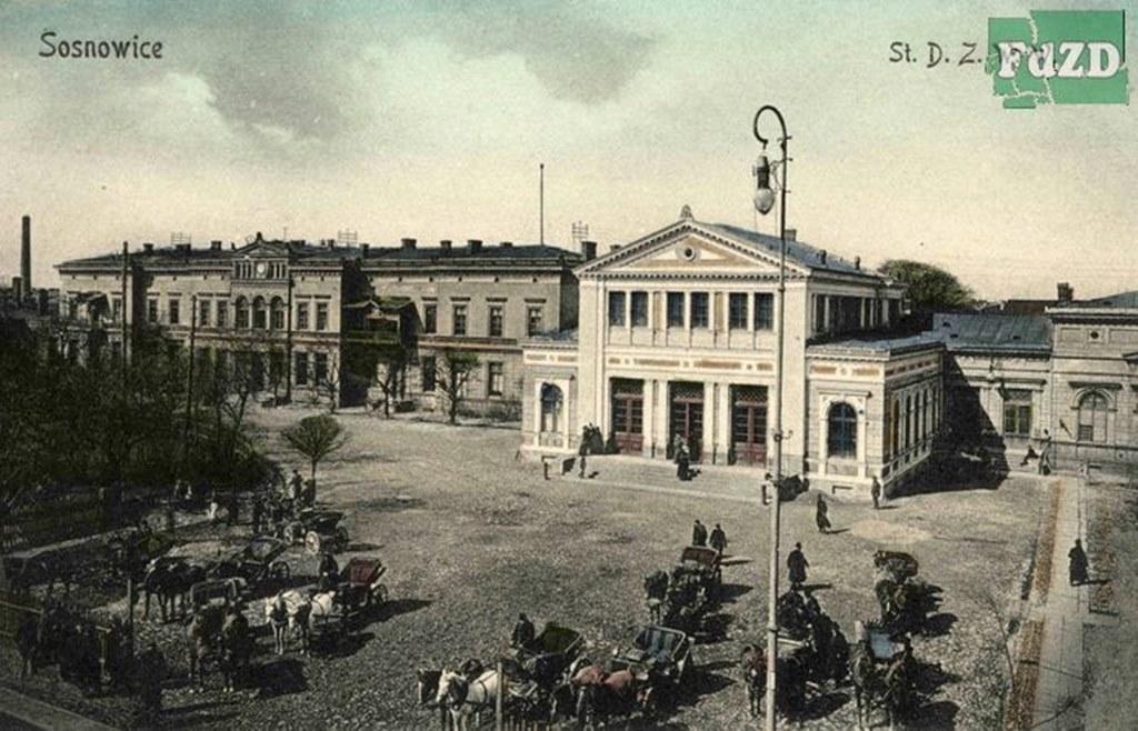 Dworzec w Sosnowcu - fot. WikiZagłębie