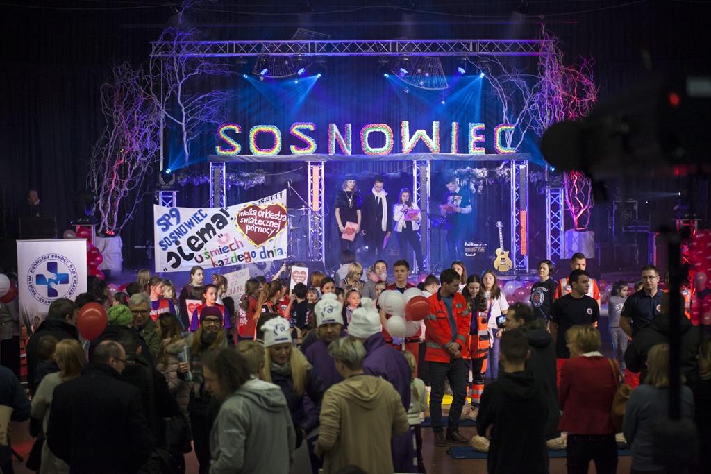 WOŚP 2017 w Sosnowcu - fot. Mariusz Binkiewicz