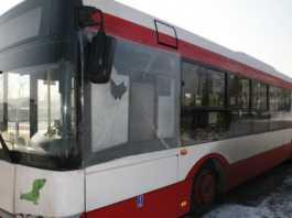 Miejski autobus ostrzelany w Sosnowcu - fot. Policja Śląska