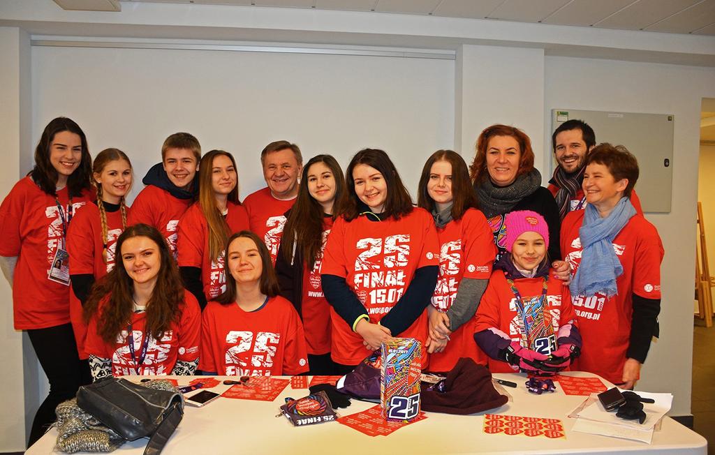 WOŚP 2017 Dąbrowa Górnicza - fot. UM Dąbrowa Górnicza