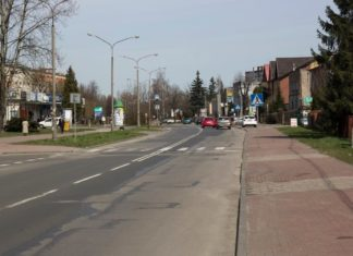 Ulica Gospodarcza w Sosnowcu - fot. UM Sosnowiec