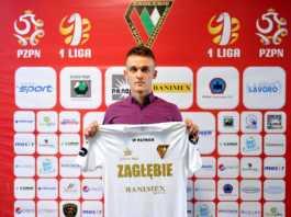 Sebastian Milewski nowym piłkarzem Zagłębia - fot. Maciej Wasik/zaglebie.eu