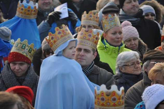 Orszak Trzech Króli 2016 w Sosnowcu - fot. Bartosz Gawlik