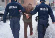 Zatrzymanie - fot. Komenda Powiatowa Policji w Będzinie