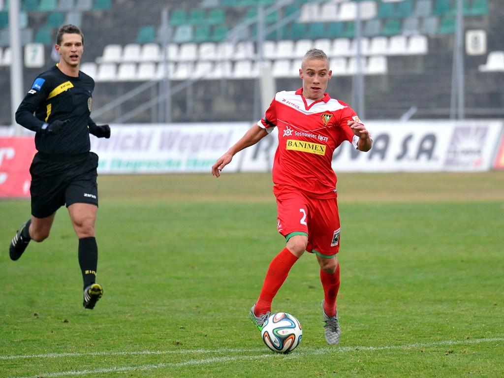 Sędzia piłkarski - fot. Maciej Wasik/zaglebie.eu