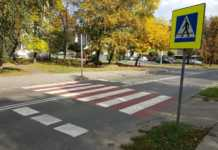 Przejście dla pieszych w Milowicach – fot. Wojciech Nitwinko
