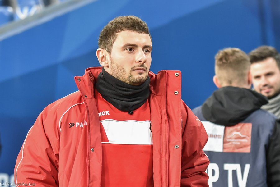 Jakub Wilk - fot. Maciej Wasik/zaglebie.eu