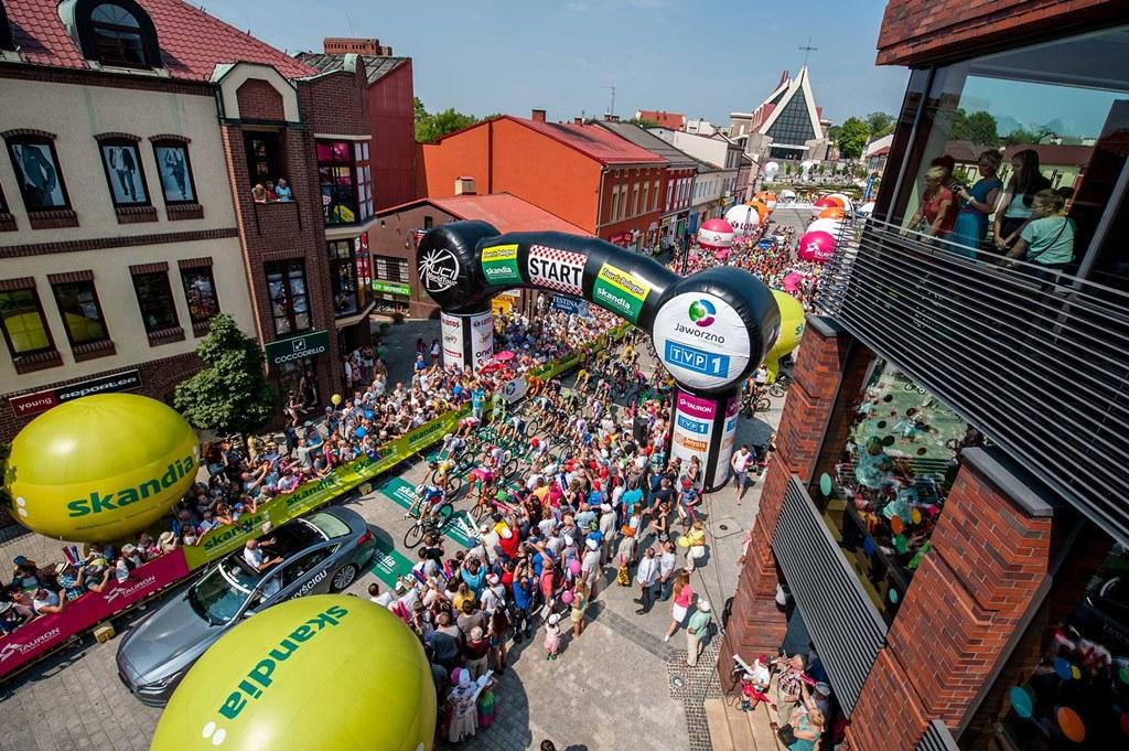Tour de Pologne w Jaworznie - fot. mat. pras.