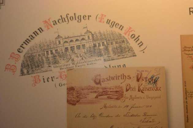 Reklama dźwignią handlu - papiery firmowe śląskich zakładów 1847-1937 - fot. Muzeum Zagłębia