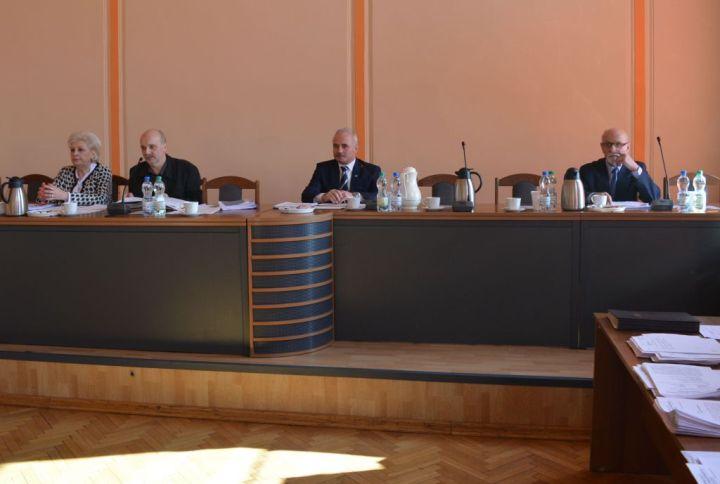 Sesja Rady Powiatu - fot. Starostwo Powiatowe Będzin