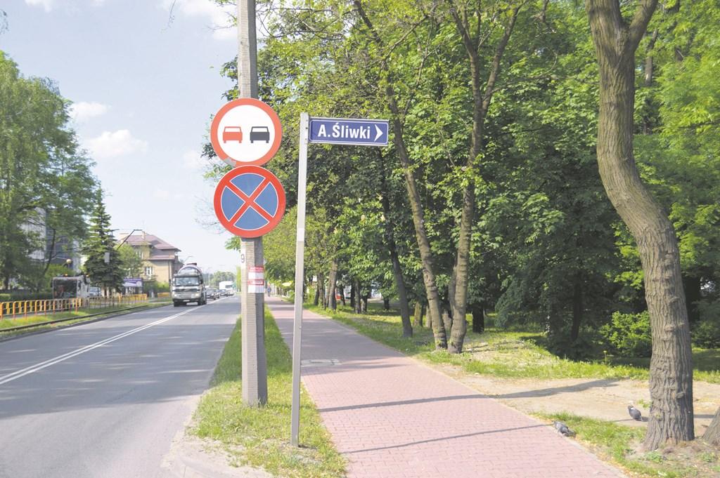 Ulica Adama Śliwki w Sosnowcu – fot. MZ