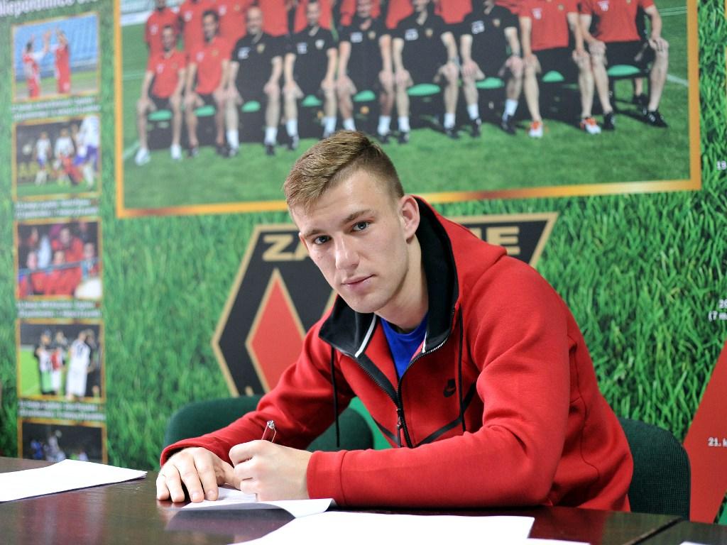 Łukasz Bogusławski – fot. Maciej Wasik/zaglebie.eu