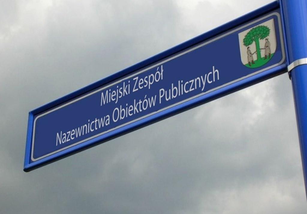 Dekomunizacja ulic w Jaworznie - fot. UM Jaworzno
