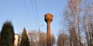 Wieża ciśnień - fot. Arch TZ