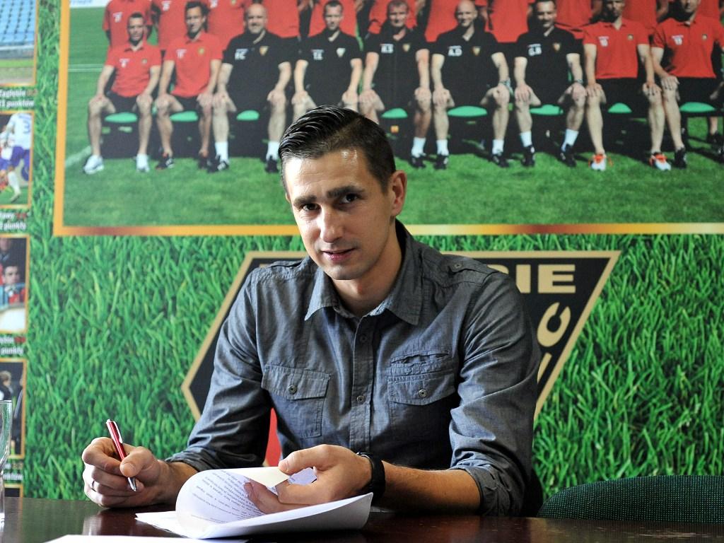 Wojciech Skaba bramkarzem Zagłębia - fot. Maciej Wasik/zaglebie.eu