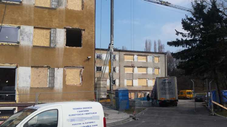Trwa remont Urzędu Miasta w Czeladzi – fot. MŁ