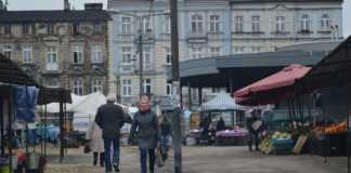 Remont sosnowieckiego targowiska – fot. MZ